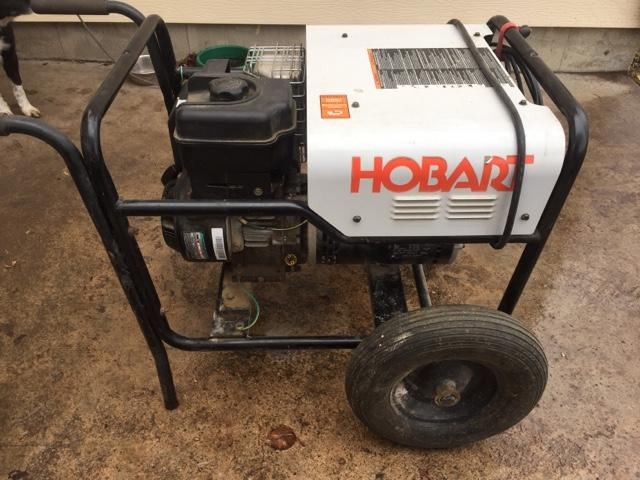 Hobart 4500 welder Generator Manual