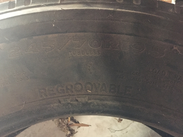 6 Goodyear Rv Tires For Sale 245 70r195 Nex Tech Classifieds