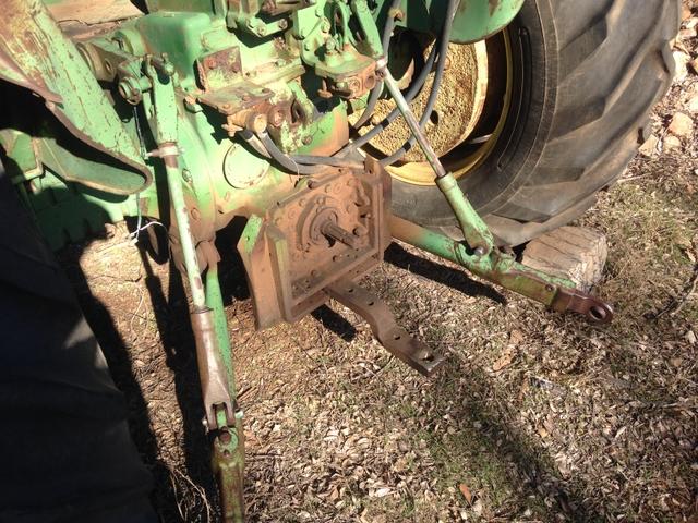 John Deere 4010 Wheatland : John deere lp standard pt tractor rainbow