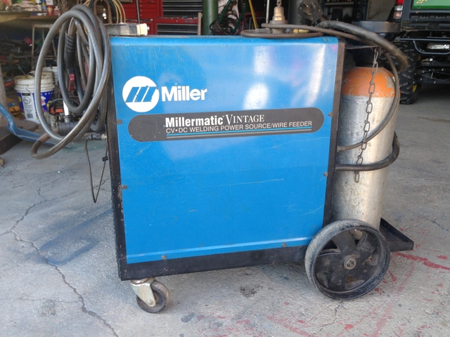 Miller Vintage 250 Wire Feed Welder with bottle - Nex-Tech Classifieds