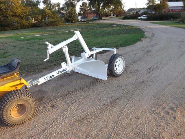 Atv Pull Behind Drag : Ft wide pull behind driveway maintainer leveller nex