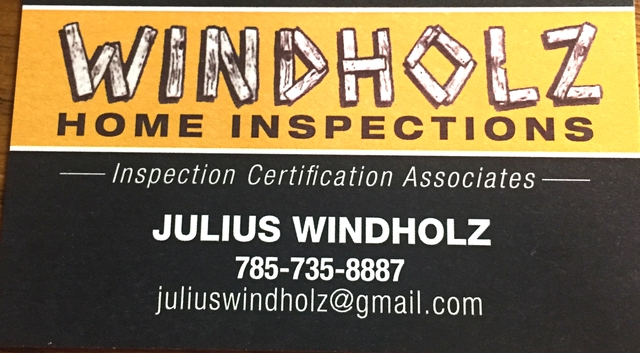 Windholz Home Inspections - Nex-Tech Classifieds